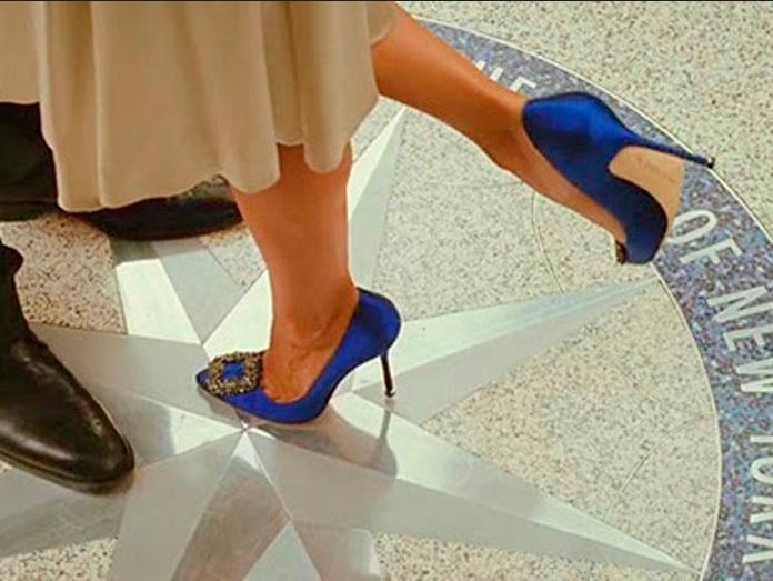 Ladies blue heels | Something blue for the bride