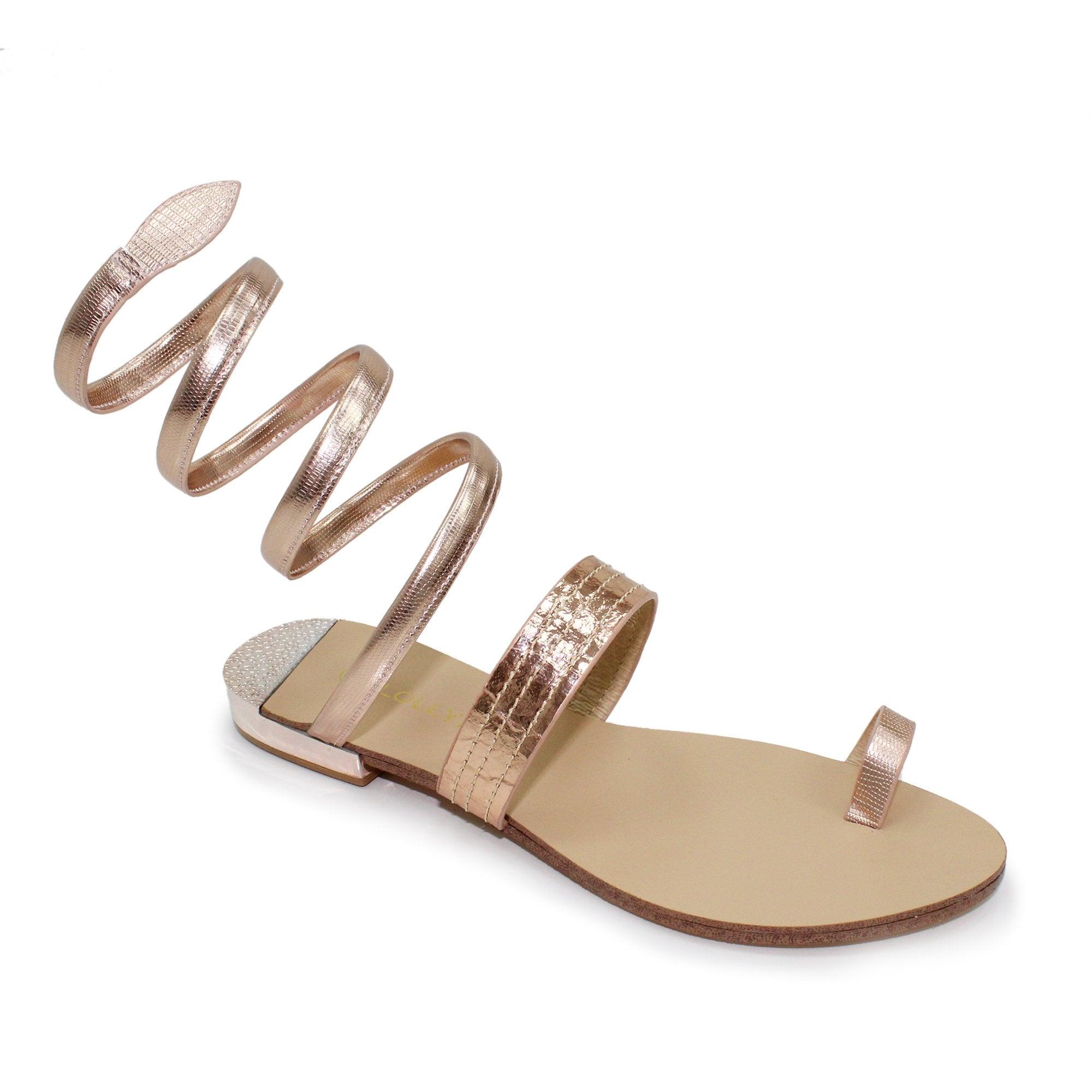 gage toe loop sandal