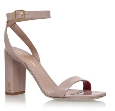 YSL Loulou ankle sandals