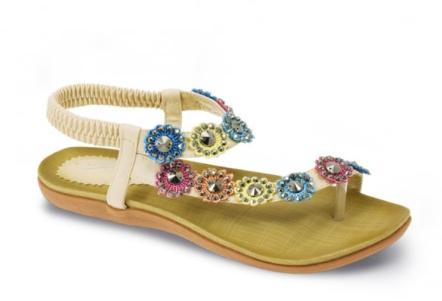 Ladies Toe-Post Sandals   Lunar Shoes
