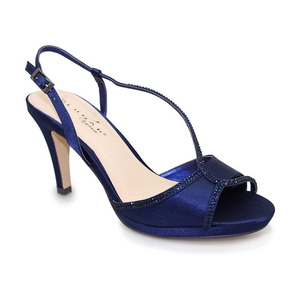 Ladies blue shoes