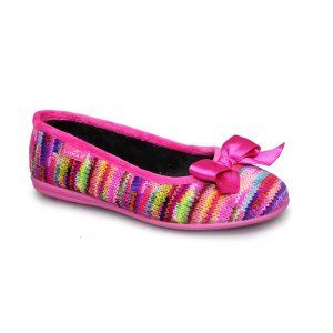 twizzle knit slipper