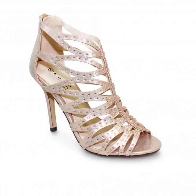 Lunar Dorado Strappy Heel