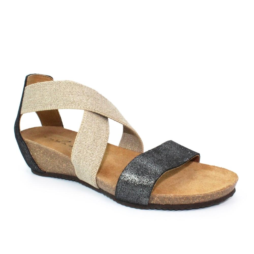 Lunar Belgrade Leather Strap Sandal