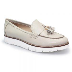 levato leather wedge shoe