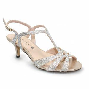 Francie Wide Fit Gemstone Sandal