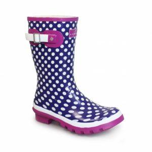 dotty mid calf wellington, festival shoes, lunar shoes