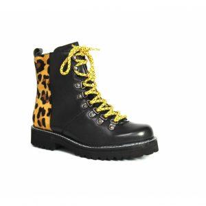 lepoard print festival boots