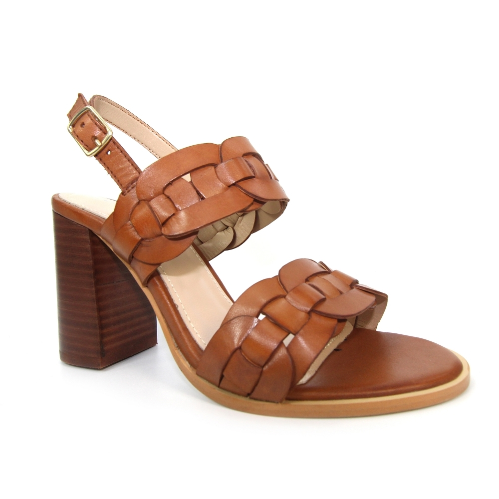 alessia weaved leather sandal