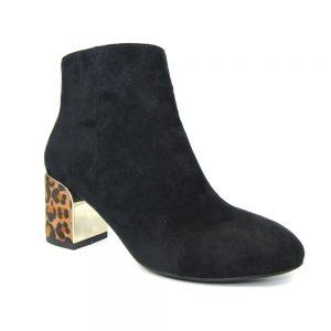 bessie black ankle boot